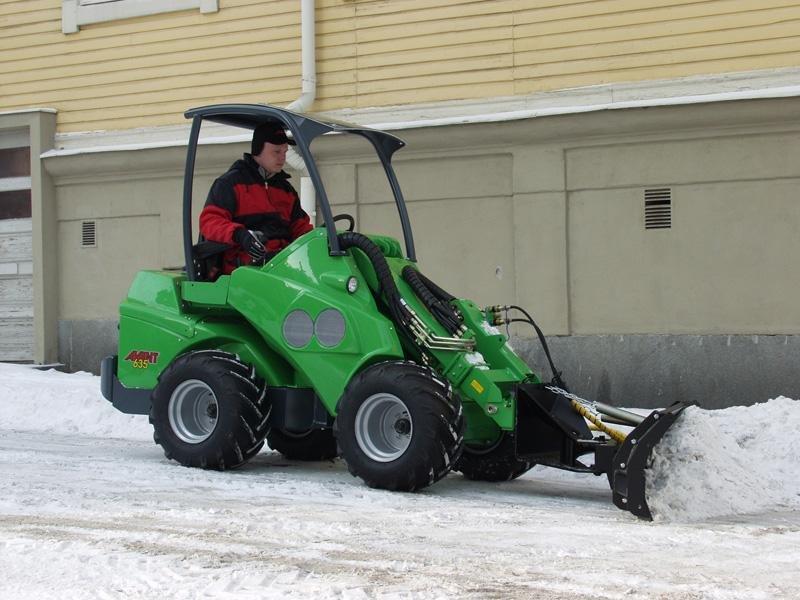 Уборка территории от снега бизнес
